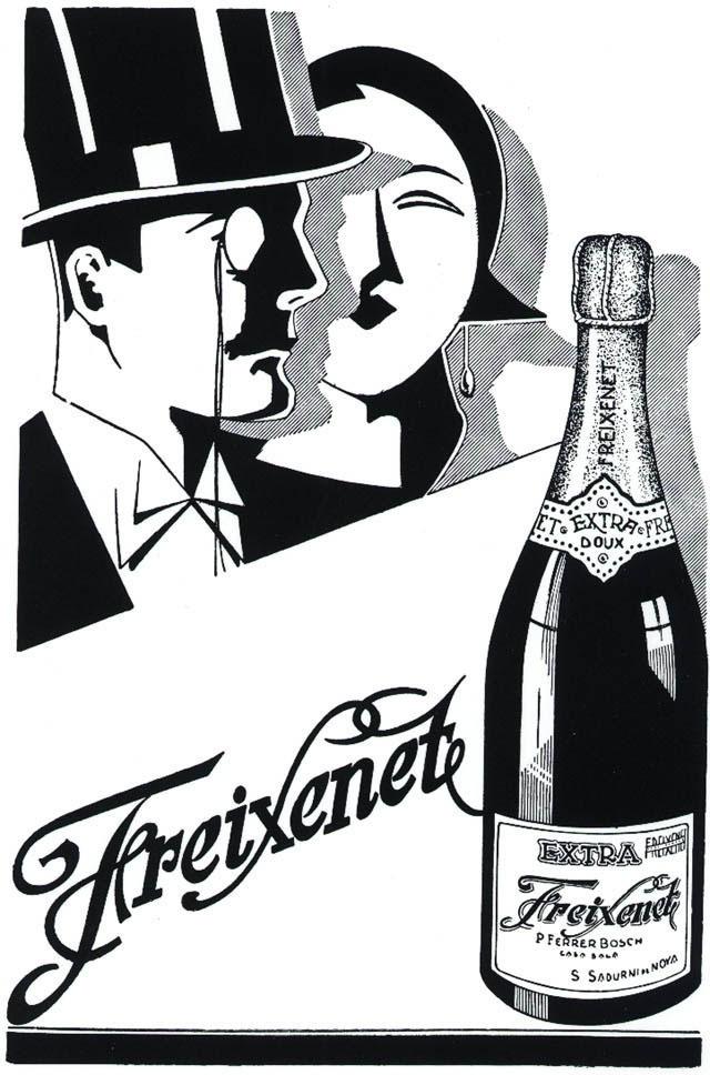 Freixenet advertsing from 1931