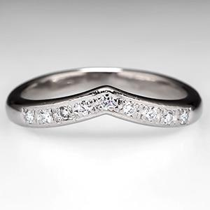 ring guards for engagement rings diamond wedding ring guard pave set platinum eragem - Wedding Ring Guard