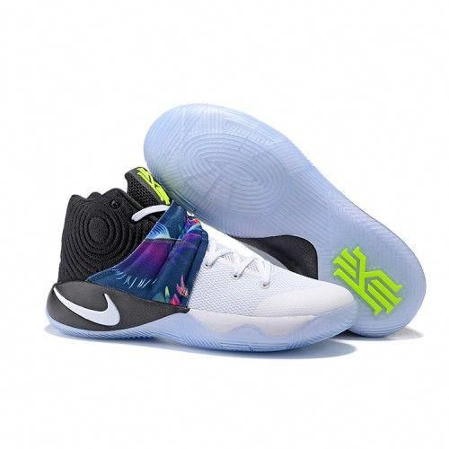 b393238f258 Nike Kyrie 2 Basketball Shoes White Black  adidasbasketballshoes ...