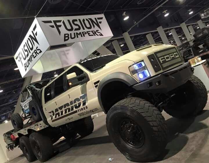 Patriot Tires Ford 6 door hauler | Ford Wheelzz ...