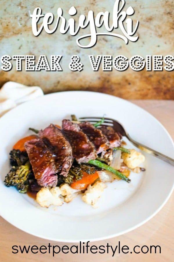 Teriyaki Steak And Vegetables Recipe Dinner Party Recipes 30 Minute Dinners Recipes Teriyaki Steak