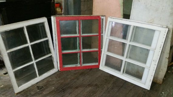 Vintage Window Sash by CraftedByConnor on Etsy