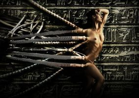 The Cable Girl by shamanau