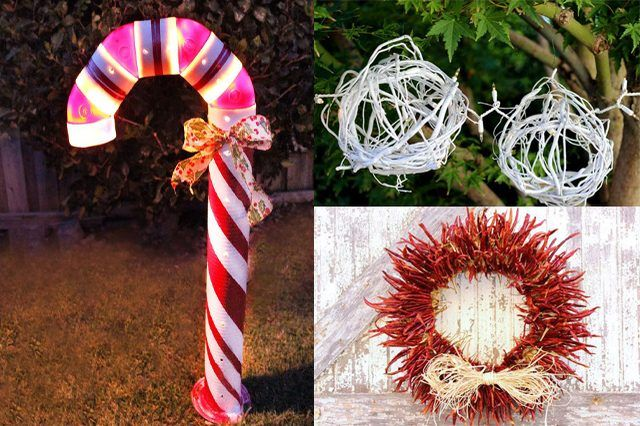 How to make unique outdoor christmas decorations seasons Unique outdoor christmas decorations