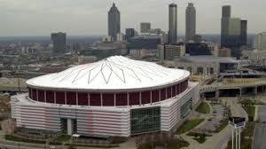 Inside the Georgia Dome: a shell of its former self