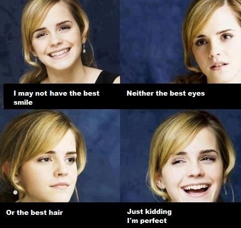 Just Emma Watson - funny pictures / funny pics / lol /  #humor #funny #funnypictures #funnypics