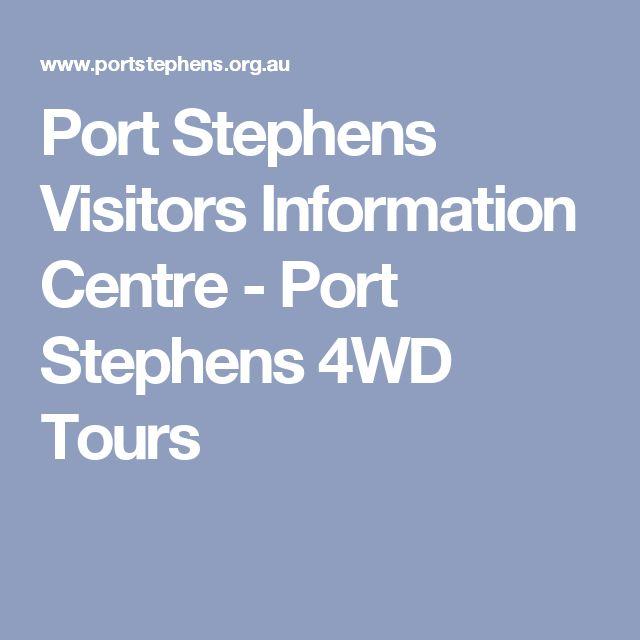 Port Stephens Visitors Information Centre - Port Stephens 4WD Tours