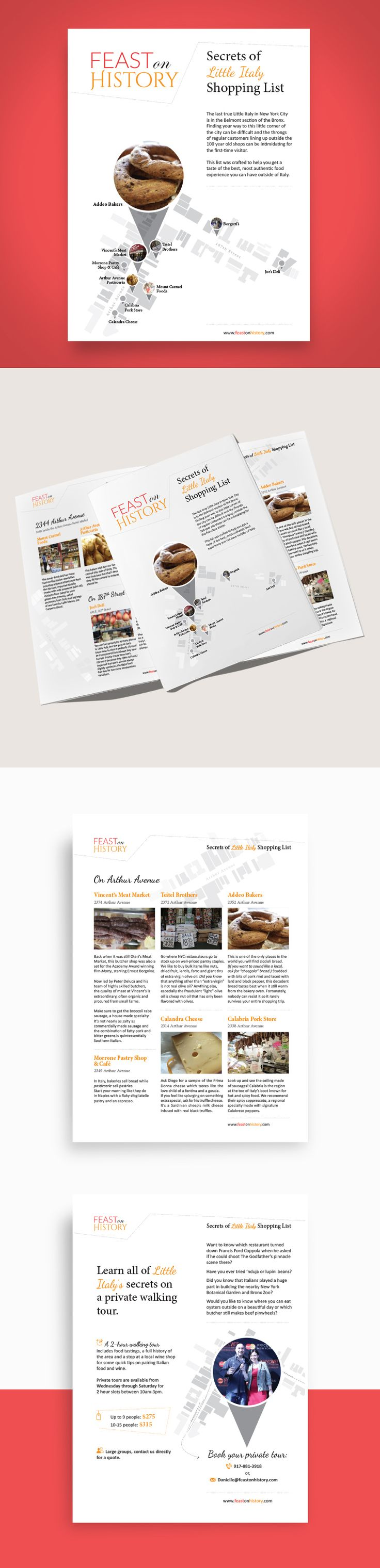 4 Page Sales Brochure for Touristic Tours — UnfoldAtelier: Boost Sales with Friendly Design
