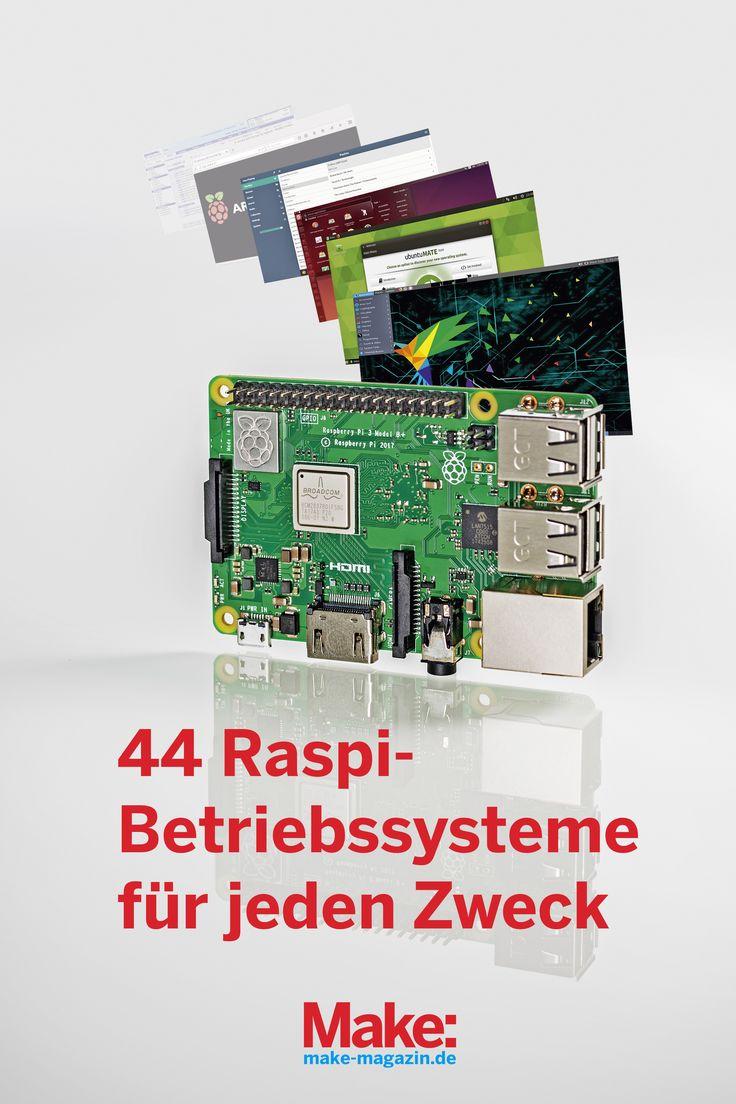 44 Pi-Betriebssysteme für jeden Zweck