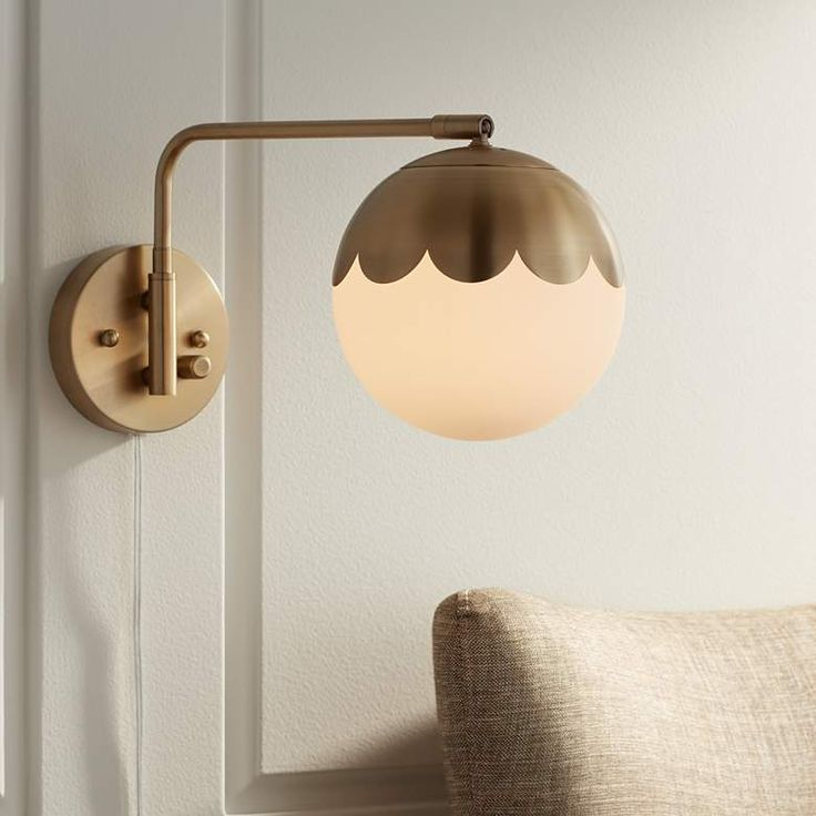 Swing Arm Wall Lamps, Plug In Wall Sconce Lamps Plus