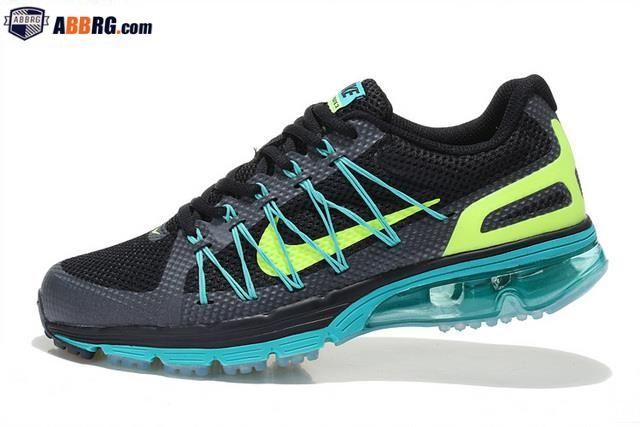 new style 72df8 dc25d New Air Max 2020 Semi-palm Cushion Mens Running Shoes Black Green
