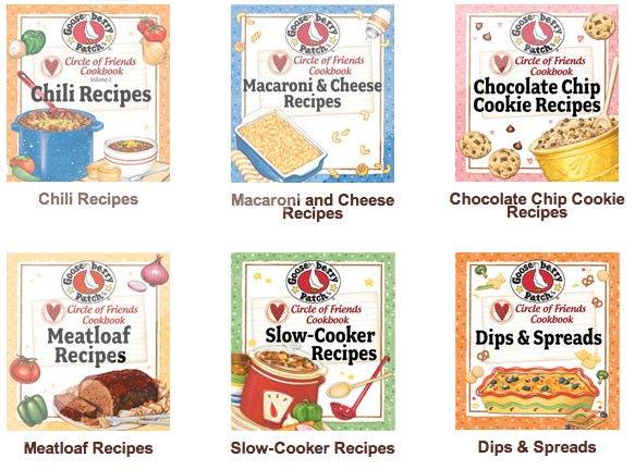 Get free recipes from Gooseberry Patch. They have a really great selection on here : )