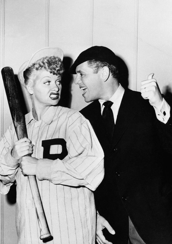 Art print POSTER Lucille Ball and Desi Arnaz