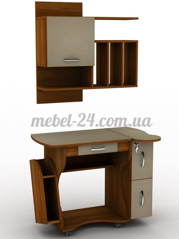 Самый удобный стол для ноутбука с полкой, Купить недорого в магазине Белая Церковь, характеристики, цена, компьютерный