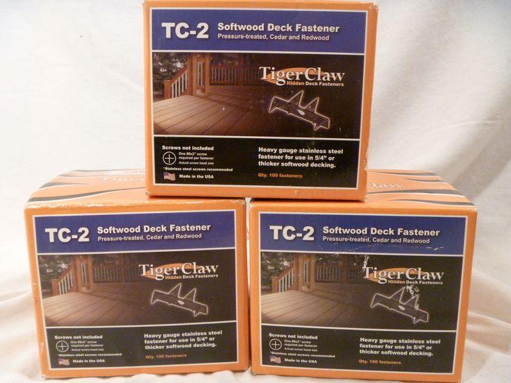 Softwood Hidden Deck Fasteners