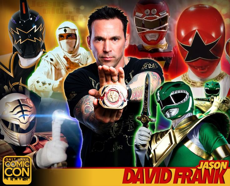 *PIN to WIN* Meet Jason David Frank at #SLCC16! Green Ranger in Mighty Morphin Power Rangers & more! #utah