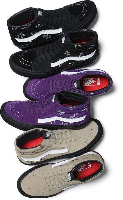 "Supreme x Vans Sk8-Mid ""Eat Me"" - EU Kicks: Sneaker Magazine"