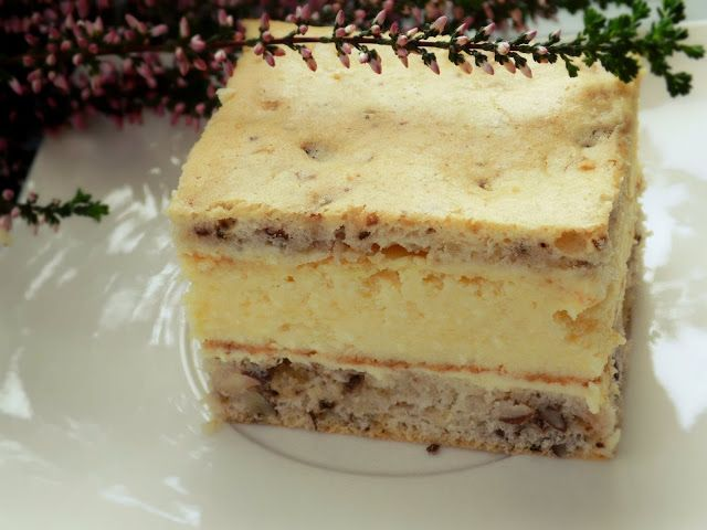 Ciasto serowo-orzechowe wg siostry Anastazji | Pychotkaaa