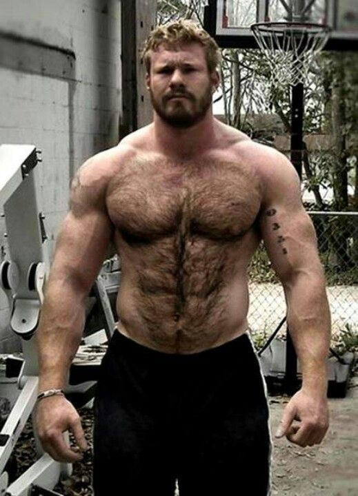 Muscle homosexual guys dril in gym