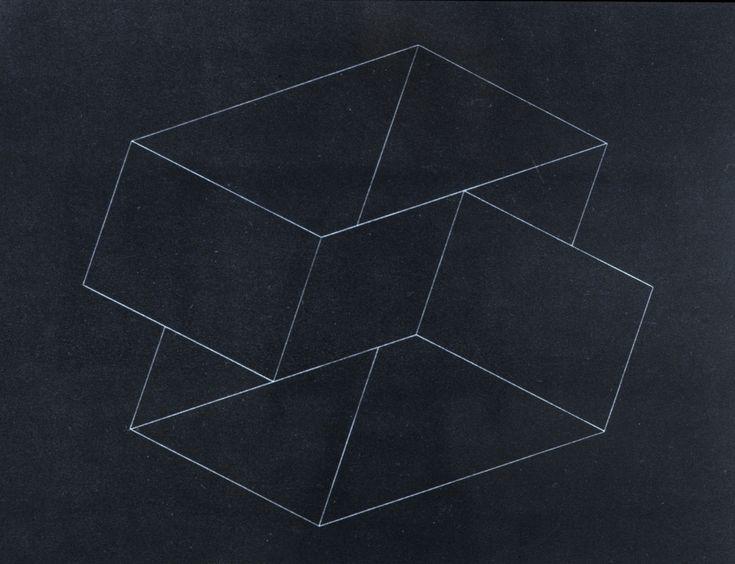 lylaandblu:    StructuralConstellationIII - Josef Albers, c. 1950Josef Albers, C 1950, Art Buckets, Structures Constellations Iii, Structural Constellation Iii, Design, Art Object, Art Graph, Geometry