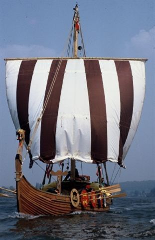 Vikings:  #Viking long ship.                              …