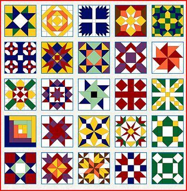 Free Quilt Block Patterns:Updated 2013