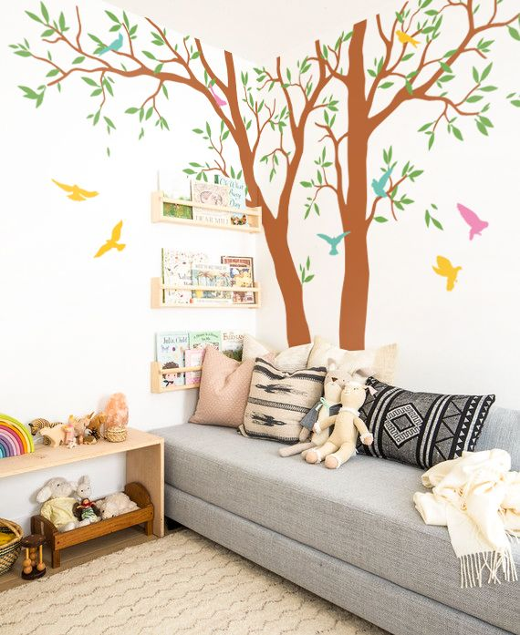 why choose wall decal for your home?! easy to put on your room wall