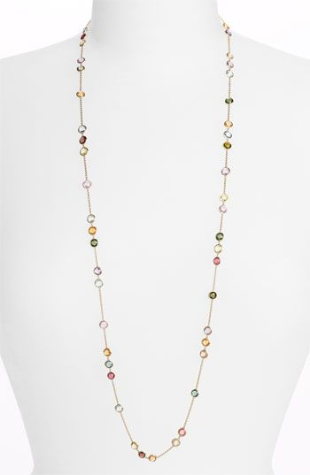 Marco Bicego 'Mini Jaipur' Long Station Necklace available at #Nordstrom