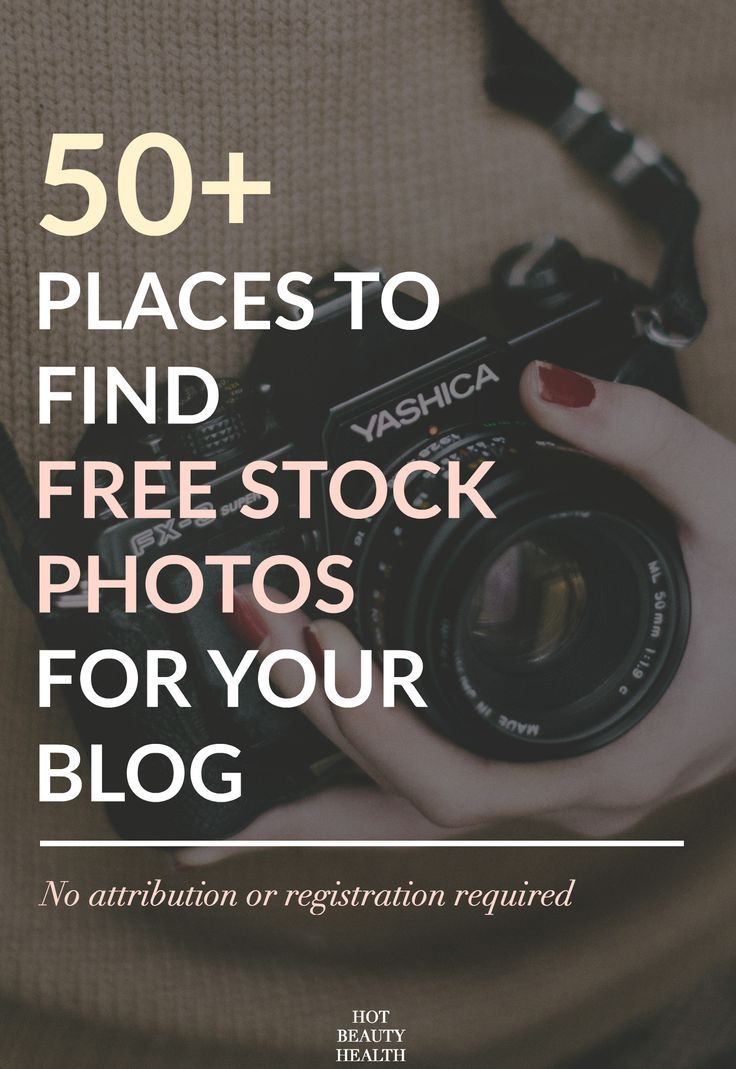50+ Places to Find Free Stock Photos For your Blog and Small Business (No attribution or registration required). Nothing but gorgeous stock photos for creative types | Perfect for blog posts, social media, email marketing, and more!