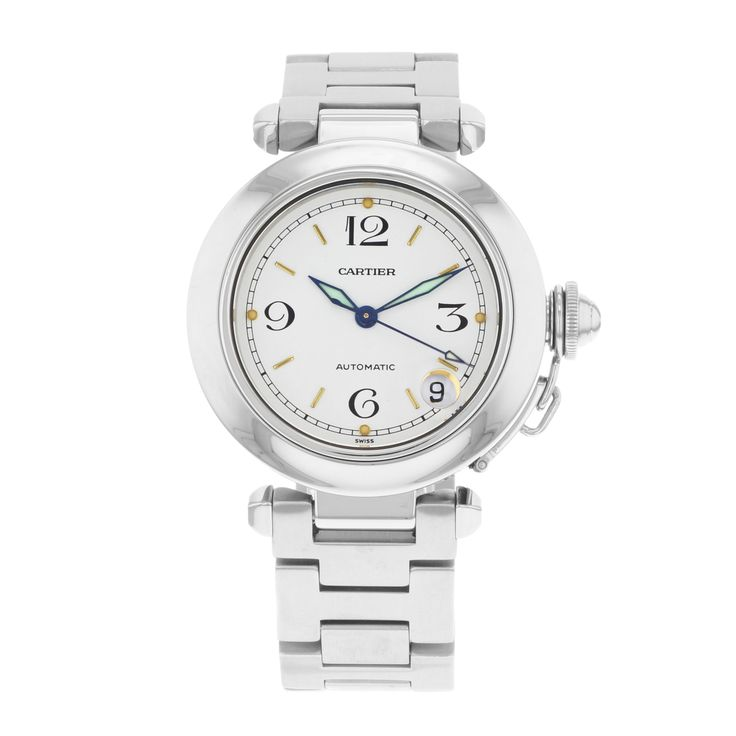 Cartier Pasha W31015M7 Stainless Steel Automatic Unisex Watch
