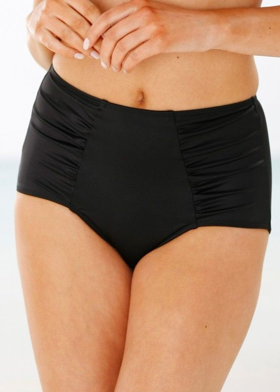 Maxi brief $34.99 Maxi brief with lining that flattens the tummy and flattering side drapings. Comfortable material with micro feeling. Lined gusset. 82% polyamide, 18% elastane. Machine wash.