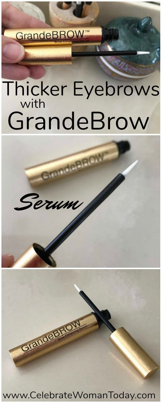 Losing eyebrows to lifestyle perils like over plucking, skin conditions, or a mistake during cosmetic procedure could push our self-esteem low to the ground. GrandeBROW Eyebrow restorative treatment serum. #GrandeBrow #serum #HeartThis