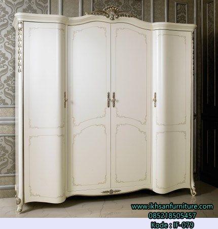 JualLemari Pakaian Pintu Lengkung Klasik Modern Lemari Pakaian Pintu…