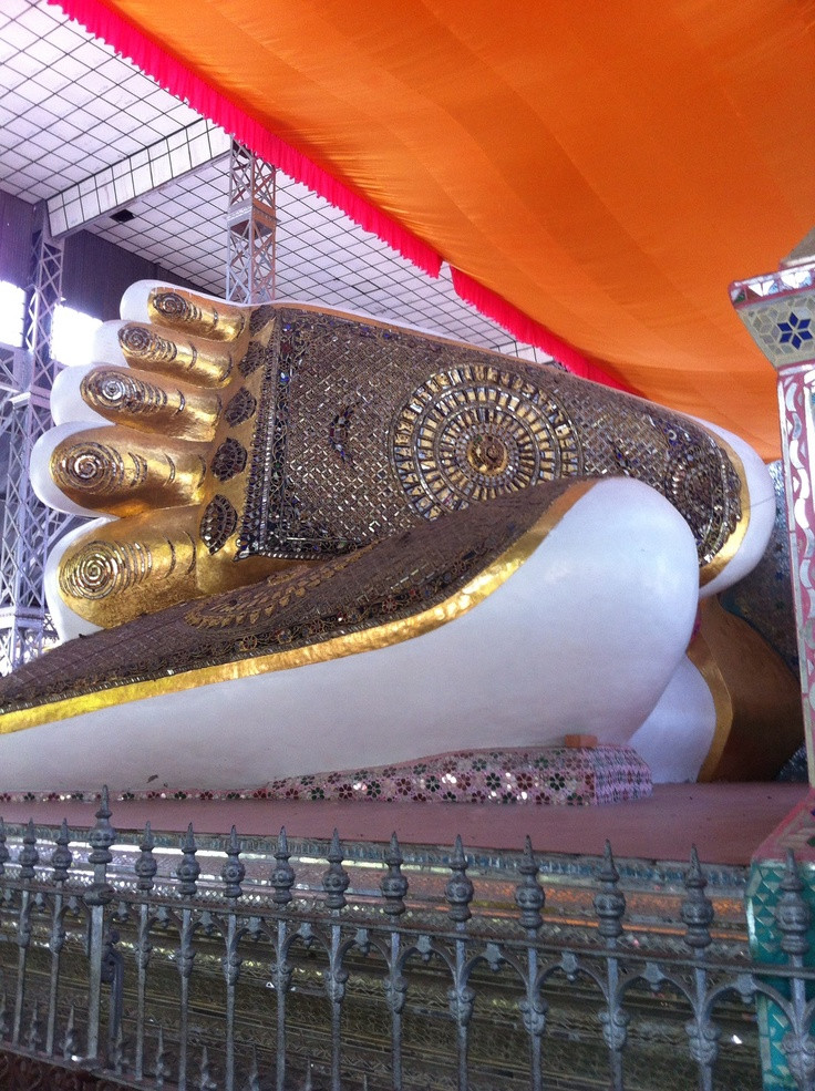 The feet of Buddha