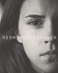 The Golden Trio -- Hermione Granger - Emma Watson  / jennasgraphics this is q out finding the Deathly Hallows
