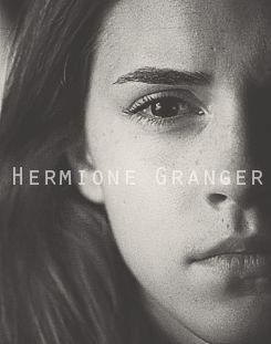 The Golden Trio -- Hermione Granger --Emma Watson -- Deathly Hallows