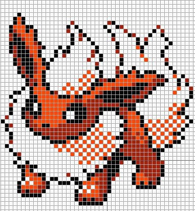 pixel art minecraft templates pokemon - Google Search