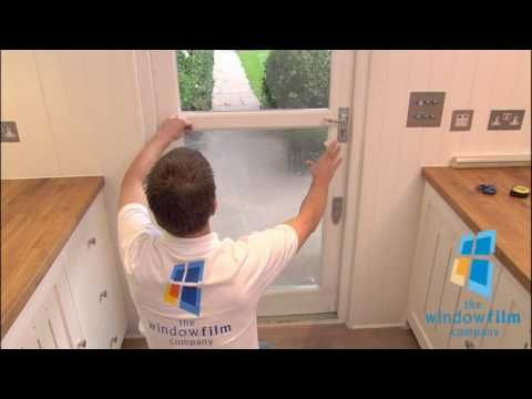 How to install Clear Safety and Security window films by The Window Film Company ® - YouTube