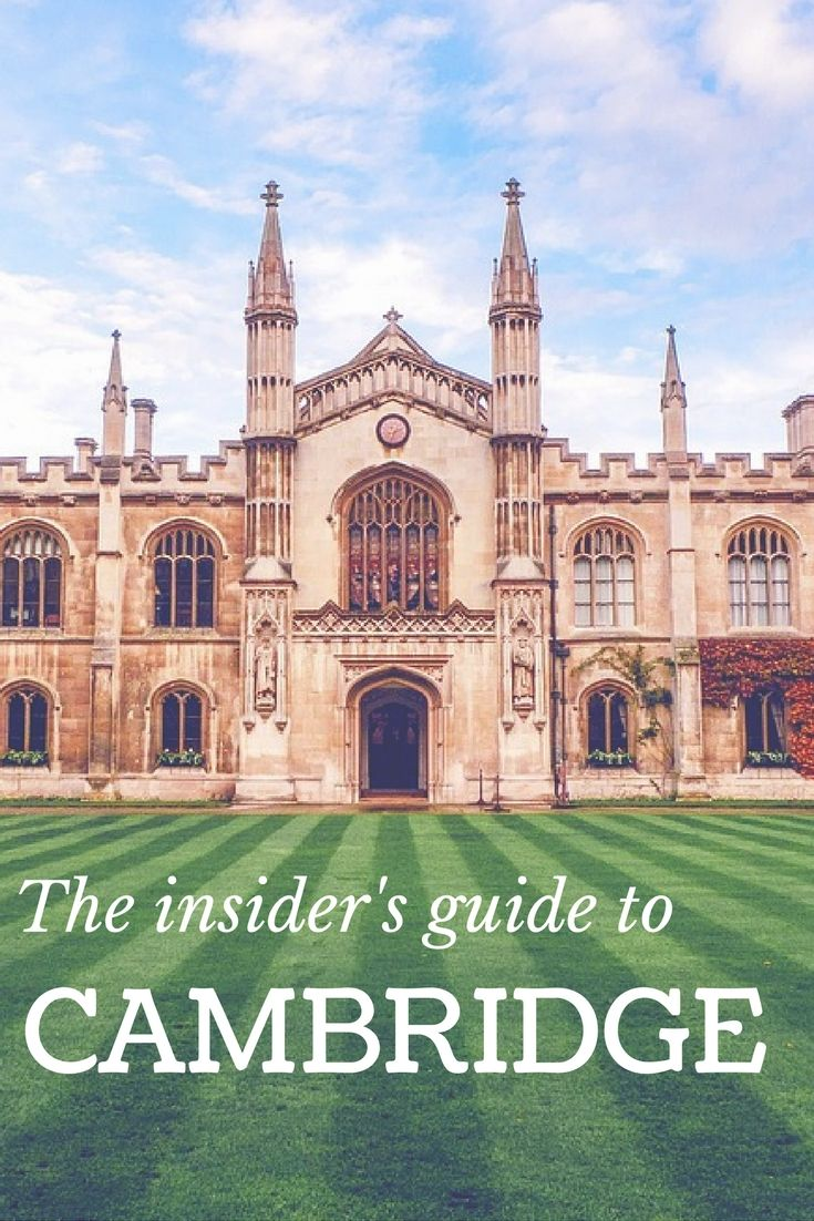 list with insider knowledge of things to do, places to eat and of course where to stay; we've handpicked picked the coolest and quirkiest places that locals love - perfect if you're looking for inspiration for your next romantic weekened away, family holiday or city break with friends.  #Cambridge #citybreak #cambridgebreak #visitcambridge #stayincambridge #explorecambridge #discovercambridge