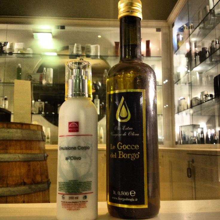 #benessere con emulsione #Borgobrufa all' #olio
