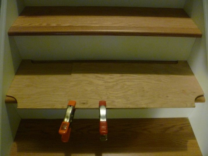 As A Template For Cutting Stair Treads Use Two Pieces Of