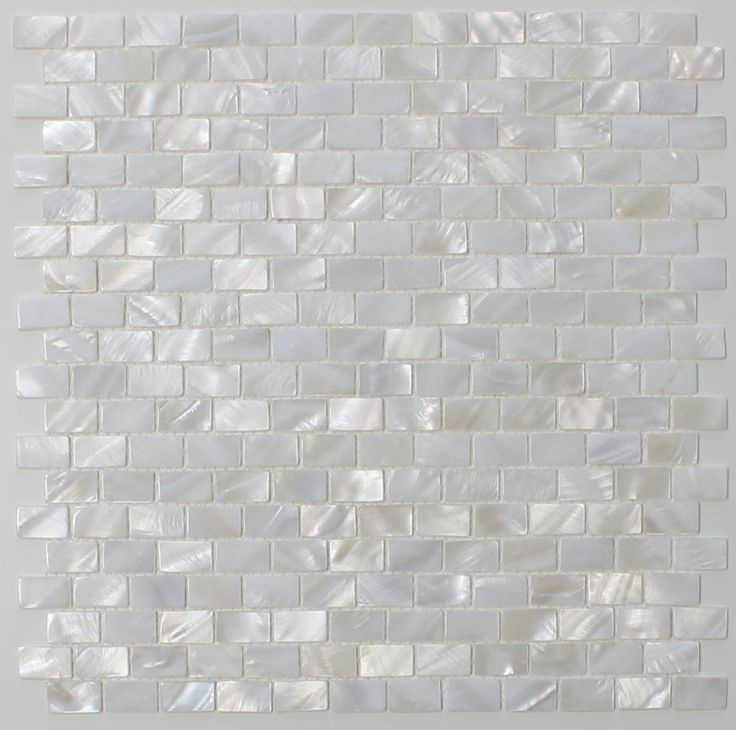 mother of pearl oyster white subway mosaic tiles kitchen backsplash
