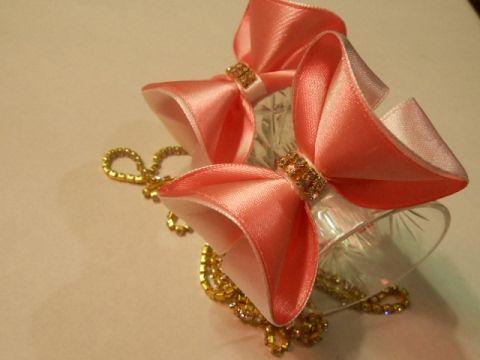 Легкий способ сделать бантик 3D МК/ DIY Make a 3D bow easily   рукодельница   Postila