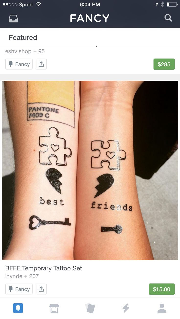 Tattoo I want… Just the puzzle piece!