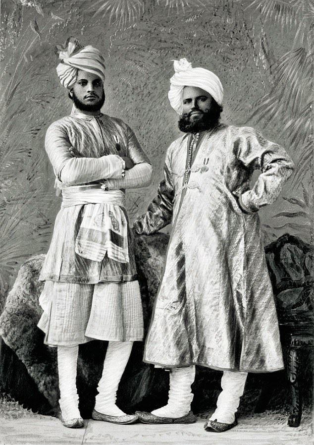 Queen Victoria's Indian servants Abdul Karim and Mohammed Buksh