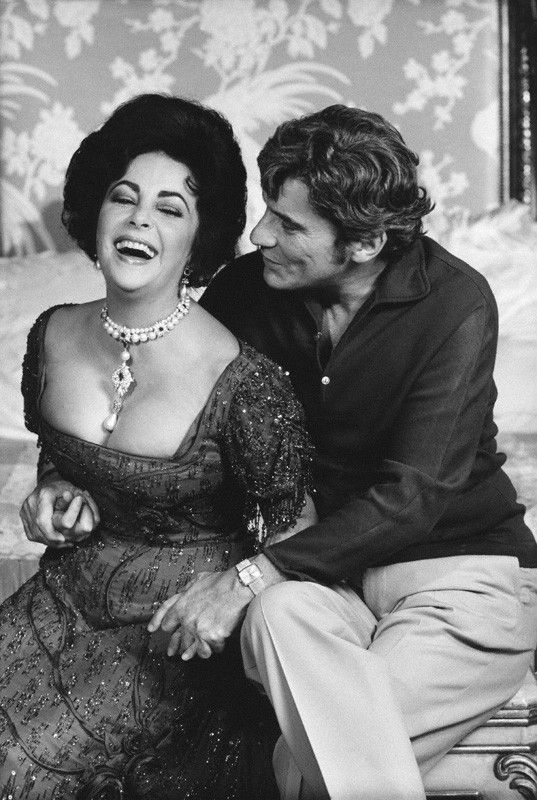 Elizabeth Taylor; this is a picture of her and United States Senator John Warner while they were married