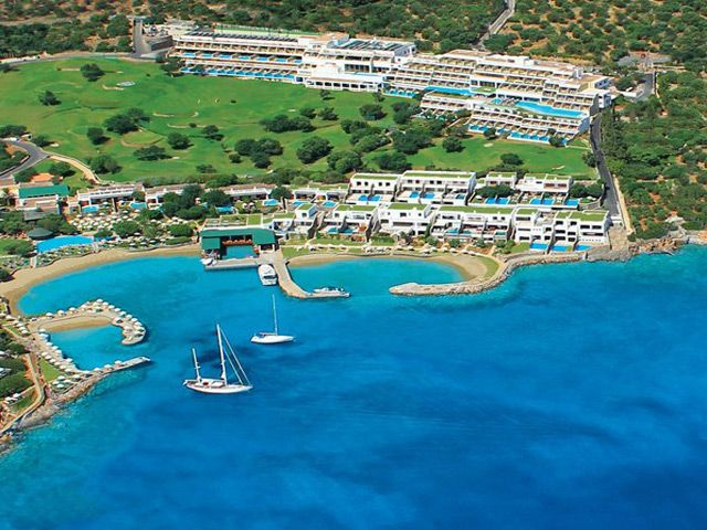 Porto Elounda Golf and SPA Resort 5 Stars luxury hotel villa in Elounda Offers Reviews