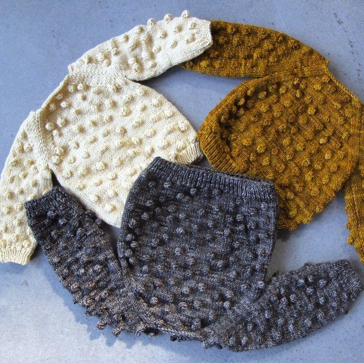 Misha and Puff — Popcorn Sweater