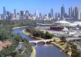 The Yarra River. Melbourne Australia