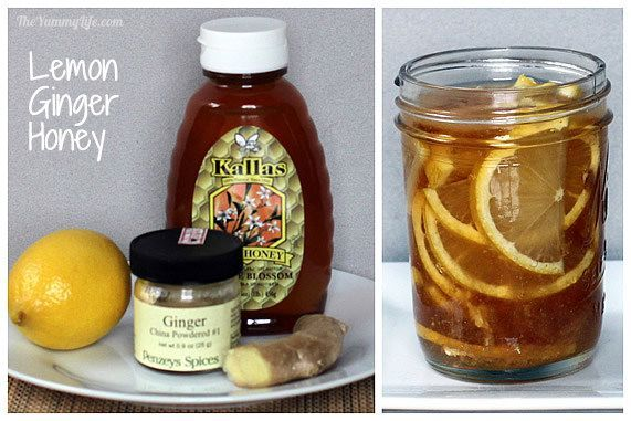 5 Natural Honey Citrus Syrups--soothe a cold or flu and add yummy flavor to hot water or tea. A thoughtful gift for an ailing friend. TheYummyLife.com